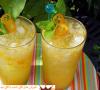 شربت نعنا و پرتقال